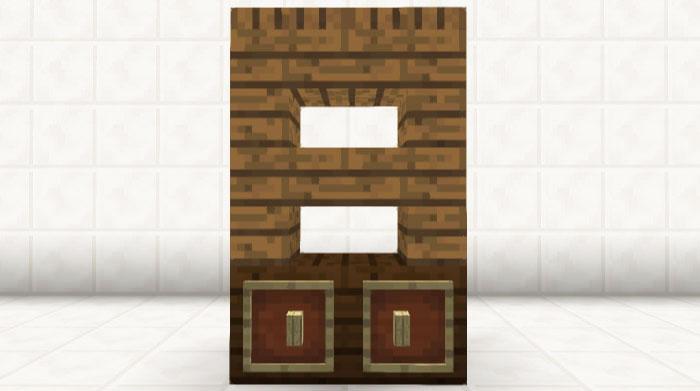 扉付き収納棚