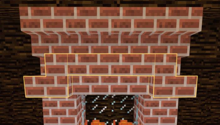 ロフトに暖炉を作る