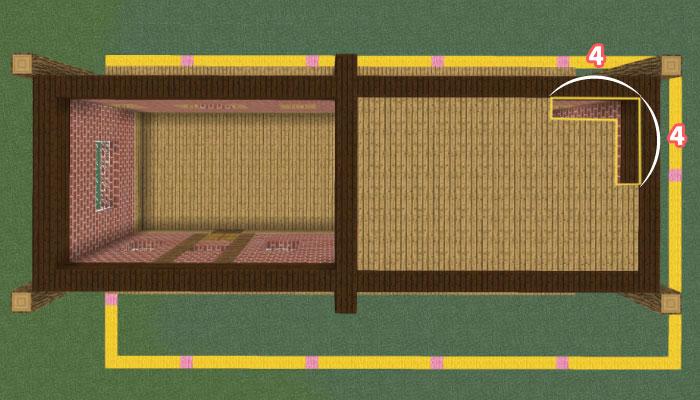 2階の床を作る