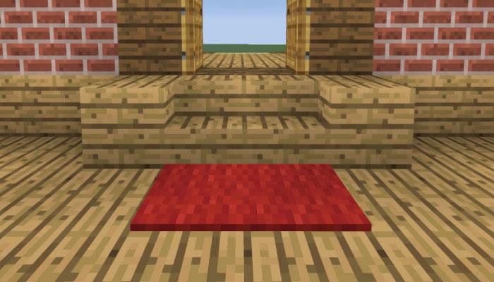玄関前を作る