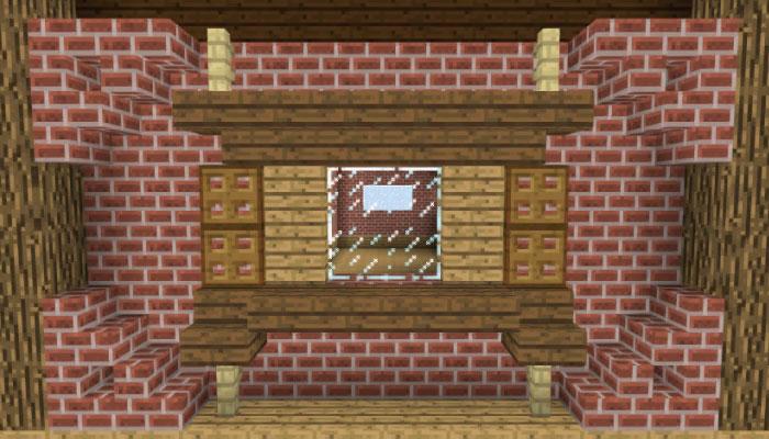 1階壁の飾り付け(側面)