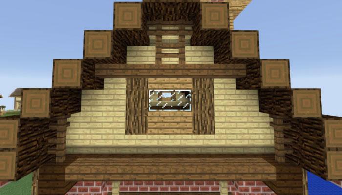 2階壁の飾り付け(側面)