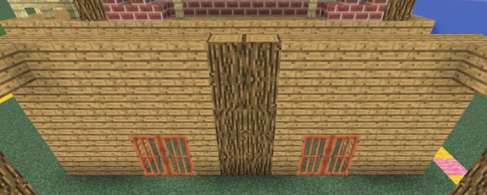 馬小屋の壁作り