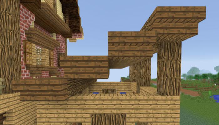 馬小屋の屋根を作る
