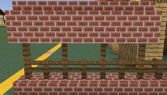馬小屋の塀を作る