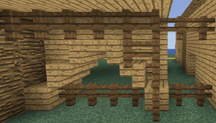 馬小屋の塀