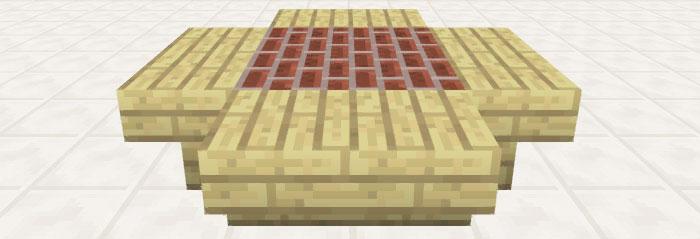 フラワーのデザインテーブル