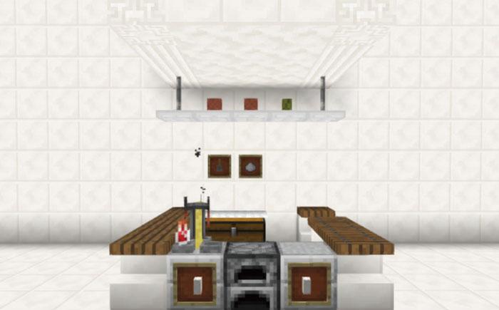 カフェのキッチンセット