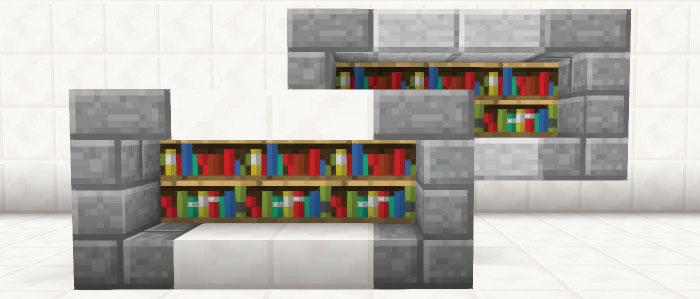 モダンな本棚