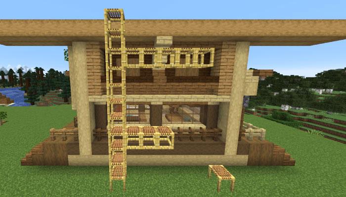建築に使う足場ブロック