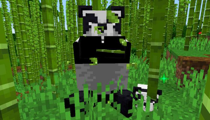 パンダのモーション