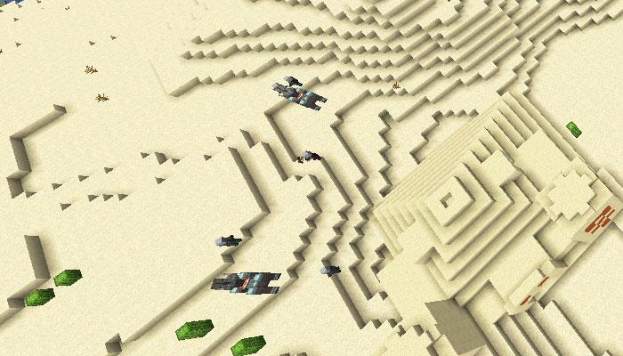 略奪隊のスポーン地域