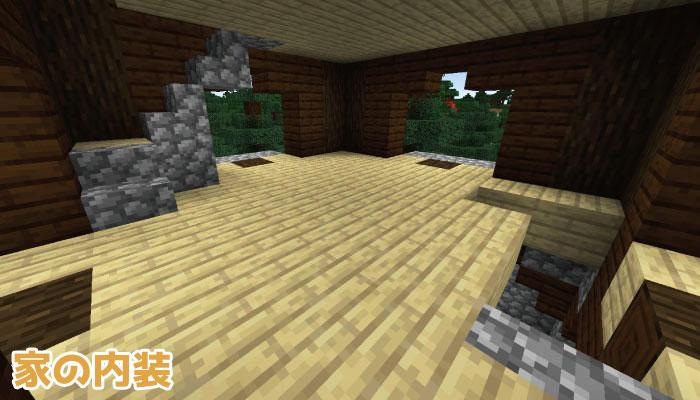 前哨基地の部屋