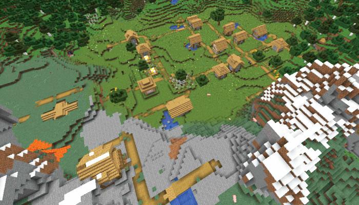 新しい村の規模