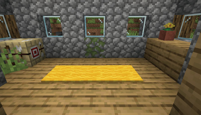 矢師の家の内装