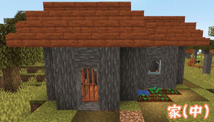 新しいサバンナの村の中サイズの家