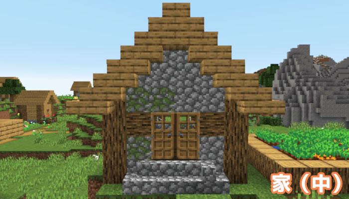 新しい村の中くらいの家