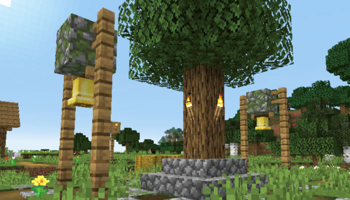 新しい村のベル
