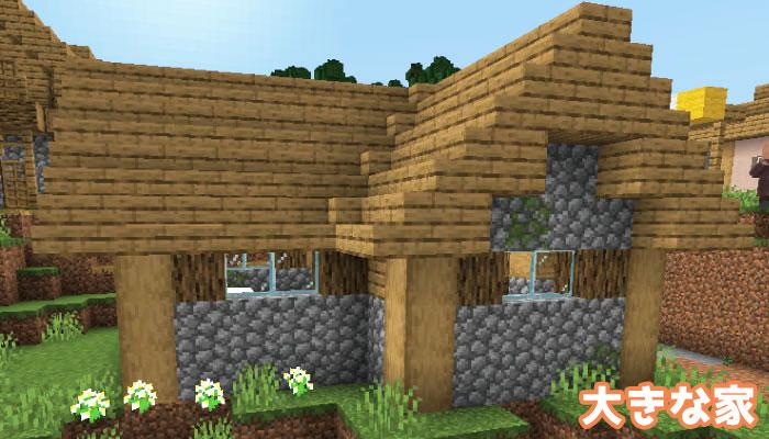 新しい村の大きな家