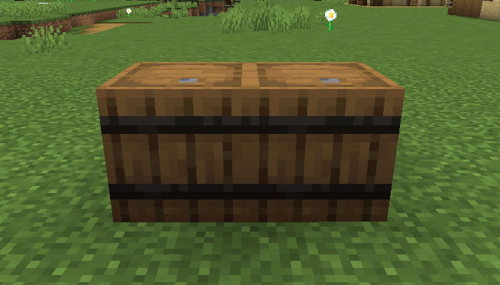 2個おいた樽