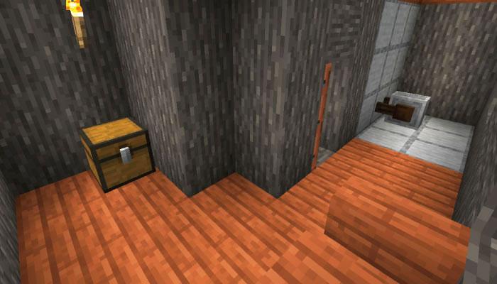 新しいサバンナの村の鍛冶屋の内装