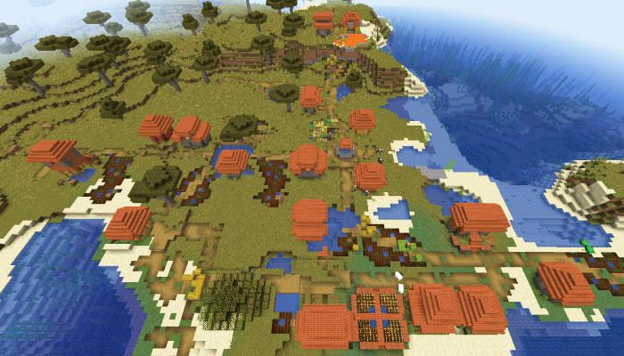 大規模なサバンナの村