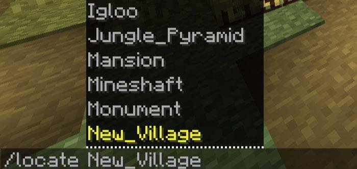 新しい村の探し方