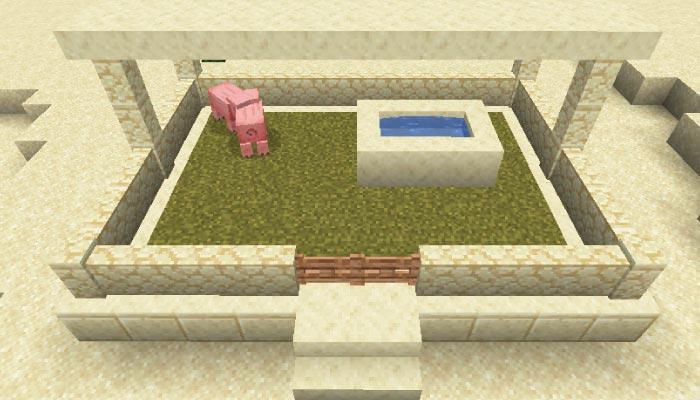 動物の小屋