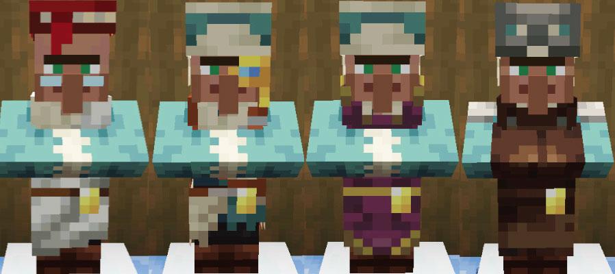 雪原の村人司書と製図家と聖職者と防具鍛冶