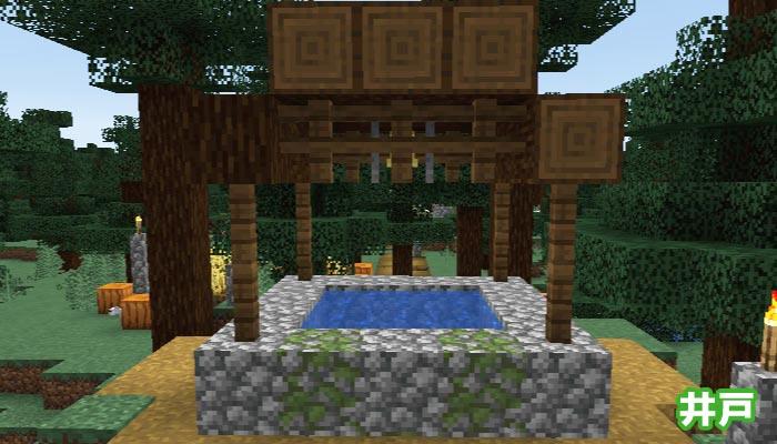 新しいタイガの村の井戸