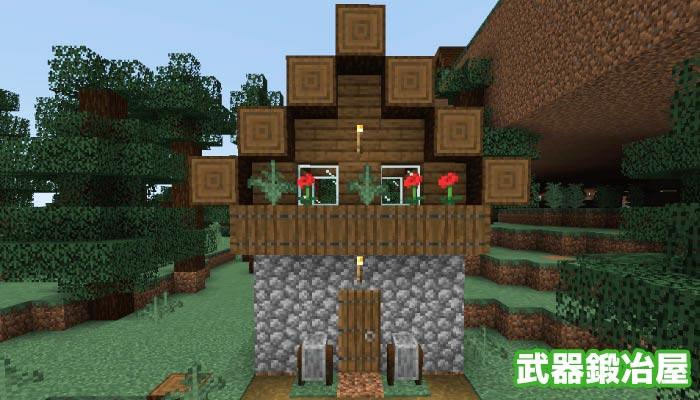 新しいタイガの村の武器鍛冶屋