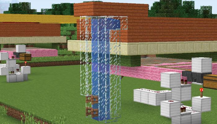 水疱エレベーターの完成