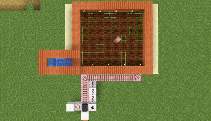 村人式全自動農場の作り方