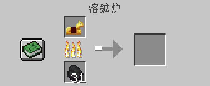 溶鉱炉で金の馬鎧を焼く