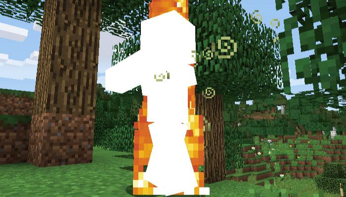 フレイム(火炎)と光の矢