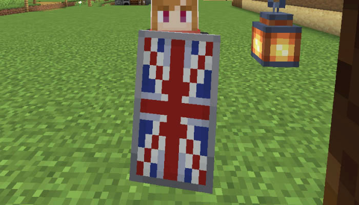 イギリス国旗の盾