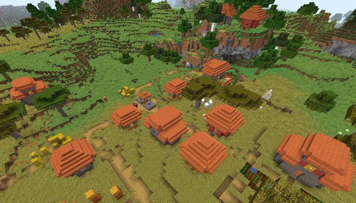 サバンナの村