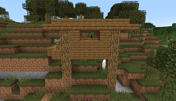 湿地帯と魔女の家