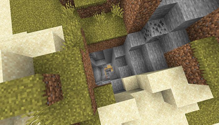 廃坑の入り口