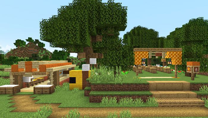 養蜂場見本