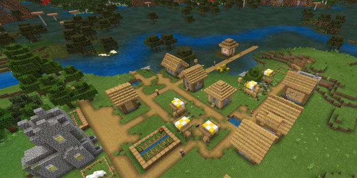 湿地と平原の村