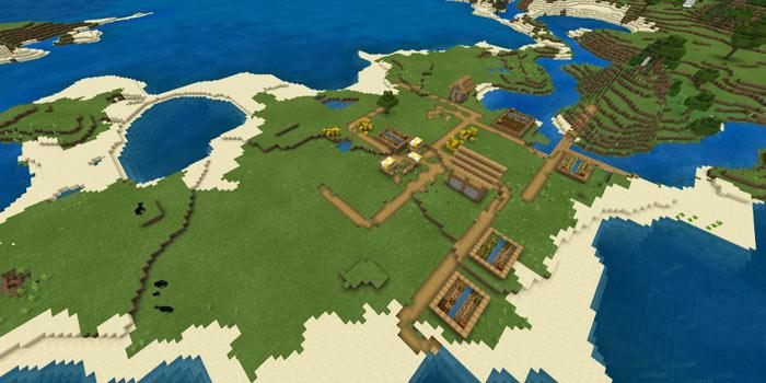 平原の港町