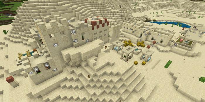 砂漠のゾンビ村
