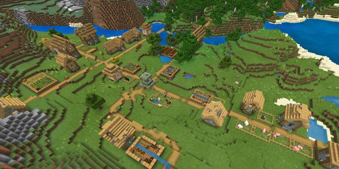 巨大なゾンビ村