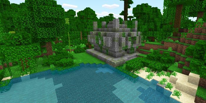ジャングル寺院