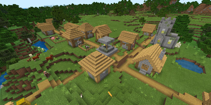 ミツバチのいる村