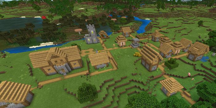 平原と湿地の村