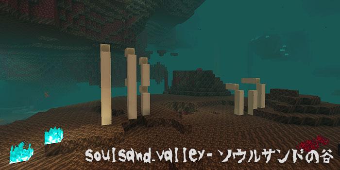 soulsandvalleyソウルサンドの谷バイオーム