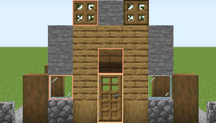 壁作り(正面)
