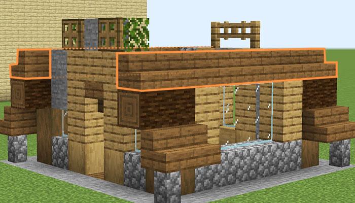 屋根作り(側面)